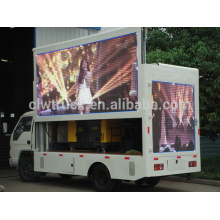 High quality 4*2 mini move stage truck,Euro IV Foton led mobile stage truck for sale